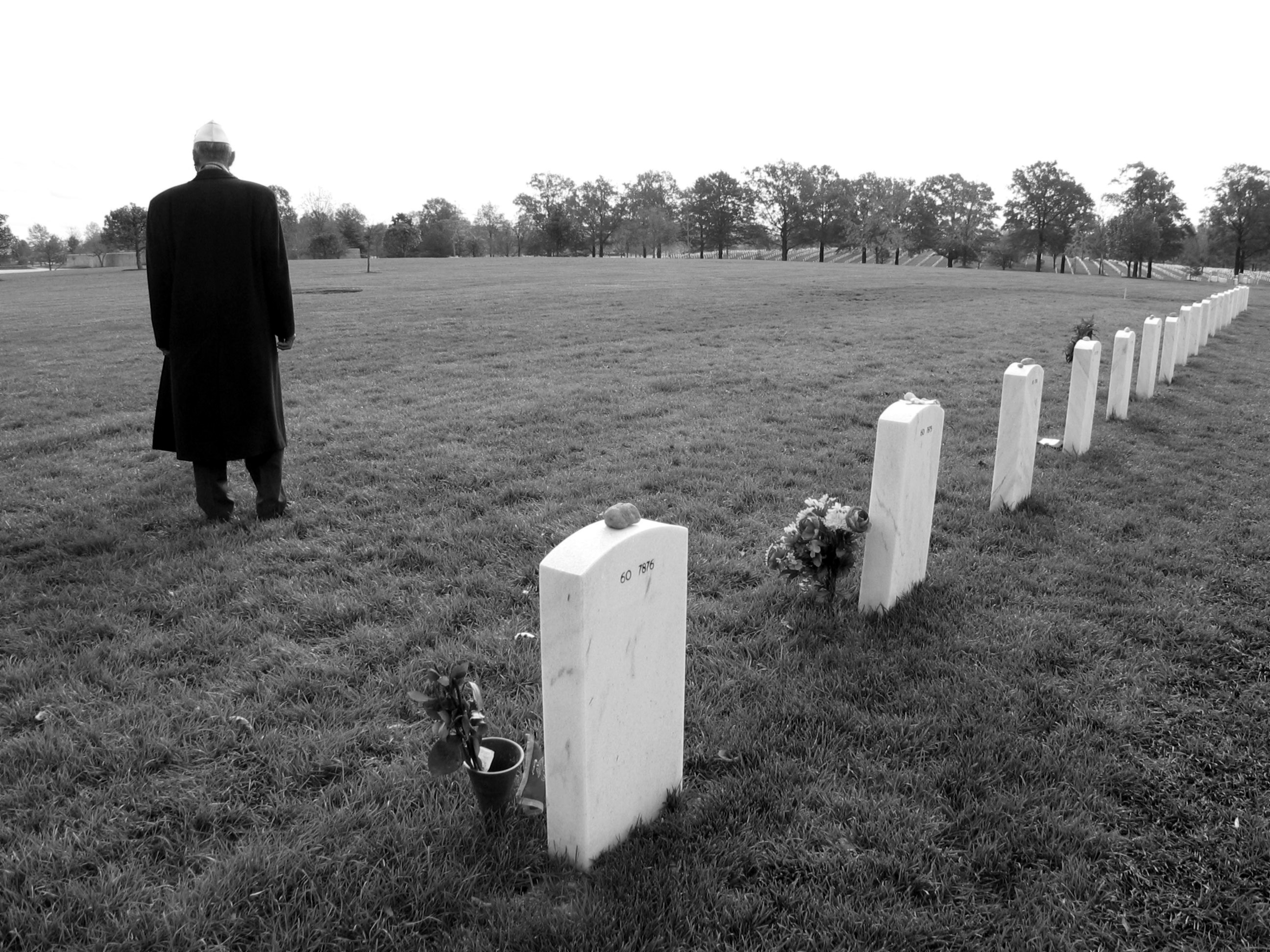 Section 60, Arlington National Cemetery, 11 November 2003